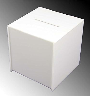 Kit Box Dona Caja con tapa blanca 20 X 20 X 20 CM: Amazon.es ...