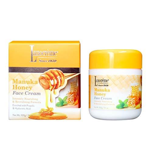 Lanogreme Manuka Honey Face Cream 3.5 oz.
