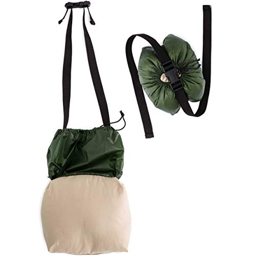 Tree Huggers Hammock - TreeHugger Camping Hammock Pillow for Hiking and Backpacking - Includes Washable Pillow case and Waterproof Stuff Sack