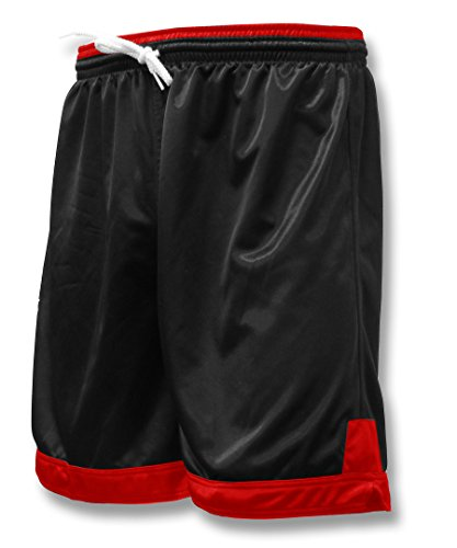 Winchester soccer team shorts for youths or adults - size Adult XL - color Black/Red