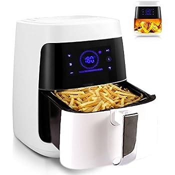 Amazon Com Belovedkai Air Fryer Electric Air Fryer 2 5l