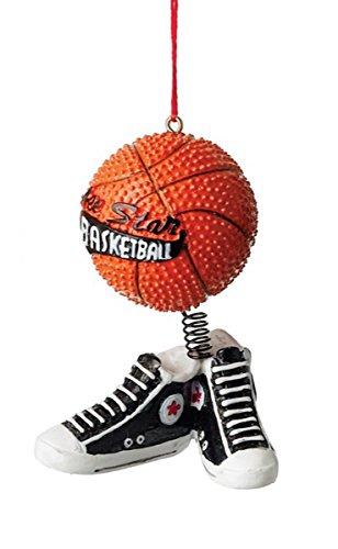 All Star Basketball and Shoes Resin Stone Christmas Tree (Basketball Christmas)