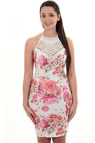 Kleid mit blumen trager