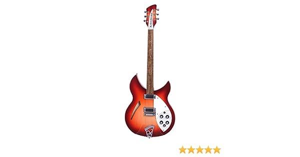 Rickenbacker rn330fg S de guitarra 330 fireglo: Amazon.es: Instrumentos musicales