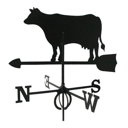 Wetterfahne Kuh groß 64 x 80 cm