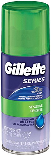 Gillette Series Shave Gel for Sensitive Skin, 2.5 Ounce
