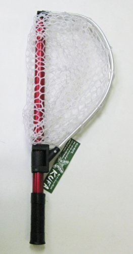 KUFA Collapsible Aluminum Landing Net (Back Pack Size:21x8; Extended Size:36x15x15)