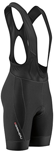 Louis Garneau Men's CB Carbon 2 Padded, Sleeveless Cycling Bib Shorts, Black, Large