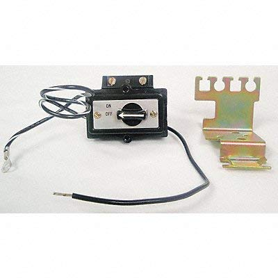 General Electric Selector Switch Kit Off-On Size 2 Black