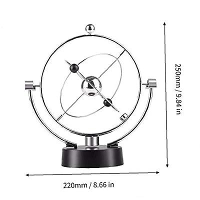 Swing Kinetic Orbital Craft Magnetic Newton Perpetual Globe Pendulum Ornaments Home Office Desk Decor: Everything Else