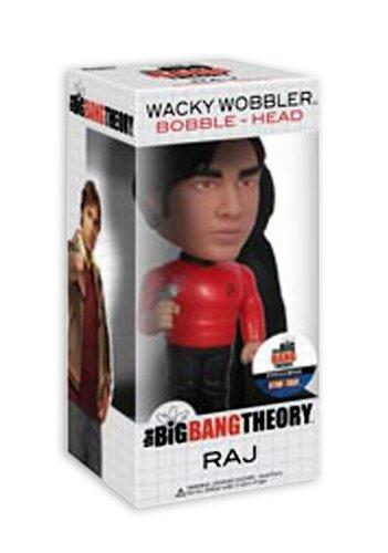 The Big Bang Theory Star Trek Raj Wobbler Headknocker