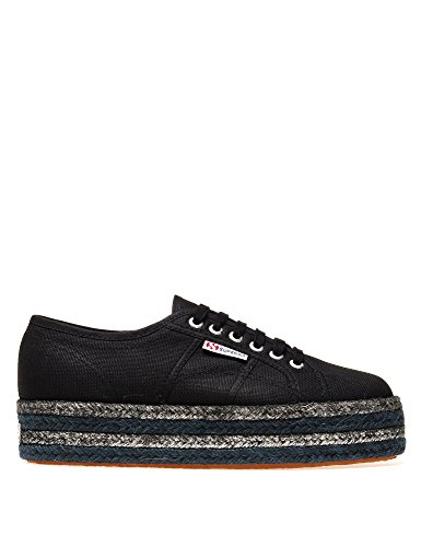 Noir Superga Women's Sneakers 2790 cotcoloropew In qrXwxr8d