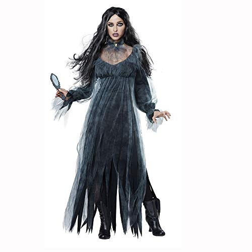 Yunfeng Witch Costume Halloween Witch Uniforms Day of The Dead Vampire Queen Costumes Ghost Bride -