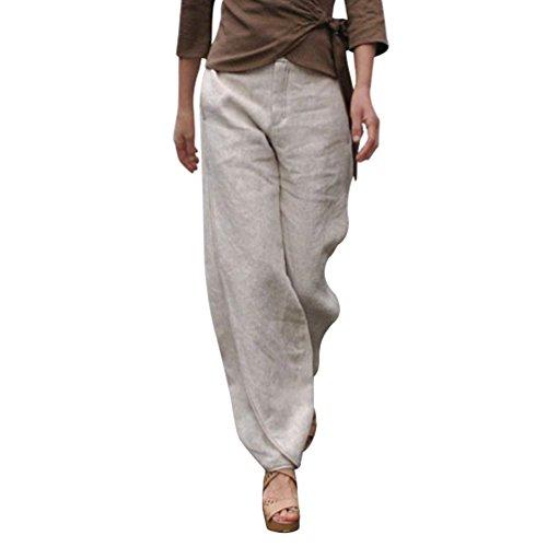 Fashion Tempo Eleganti Pantaloni Stoffa Libero Monocromo Ragazze Donna Beige Festa Autunno Pluderhose Pantaloni Di Pantalone Pantaloni Baggy nbsp; Harem Lunghe Style q7Ewa