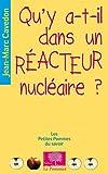 Qu'y-a-t'il dans un réacteur nucléaire ?