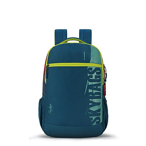 Skybags Komet 17 inch 02 28 Ltrs Turquoise Laptop Backpack (Komet 02)(32cms x 17cms x 47cms)
