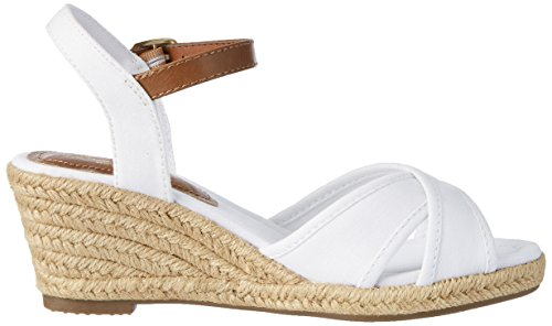 Femme Tailor Tom Ouvert Weiß Bout Sandales White 2799006 O1qxqpPw7