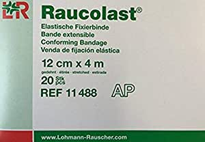 Lohmann & Rauscher Raucolast Bandage 12 cm x 4 m Pack of 20
