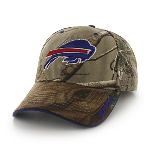 NFL Buffalo Bills '47 Frost MVP Camo Adjustable Hat, One Size Fits Most, Realtree - Mccoy Green Lesean