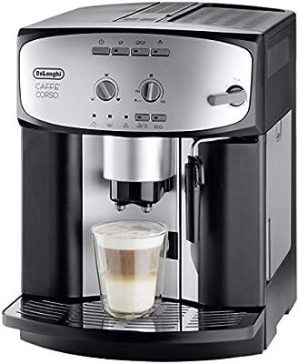 DELONGHI Esam 2803 Caffe Corso Cafetera automática - Plata/Negro ...