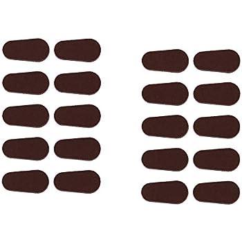 Amazon.com: café Color almohadillas para orejas de nariz 3 ...