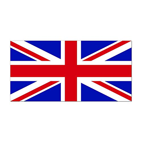 United Kingdom of Great Britain and Northern Ireland Country Pride Flag Full Color - Vinyl Decal for 13