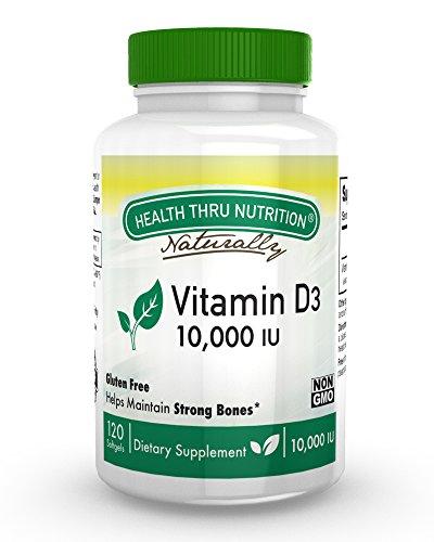 Vitamin Softgels 10000 cholecalciferol Natural