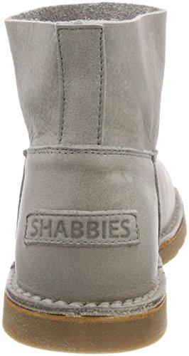Grey Light Grain Shabbies Slouch Leather Heavy Light Brown Schlupfstiefel 2004 Boots Women's Braun Grey P8rPfqvw
