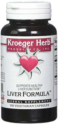 Kroeger Herb Liver Formula Combinations, 100 Count For Sale
