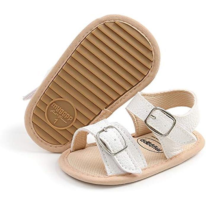Babelvit Infant Baby Girls Boys Soft Summer Sandals Casual Dress Shoe Flower Tassel Anti Slip Rubber Sole Outdoor Flats Toddler First Walker Shoes