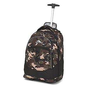 High Sierra Chaser Wheeled Laptop Backpack, Whamo Camo/Black