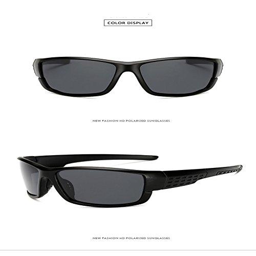 Sable Sable Polarized Sports Cadre 1020 gris Lunettes Inovey Style Brise Pare Polarisées noir Noir Glasses cadre Riding De Men's Gris Soleil Outdoor UnS6a