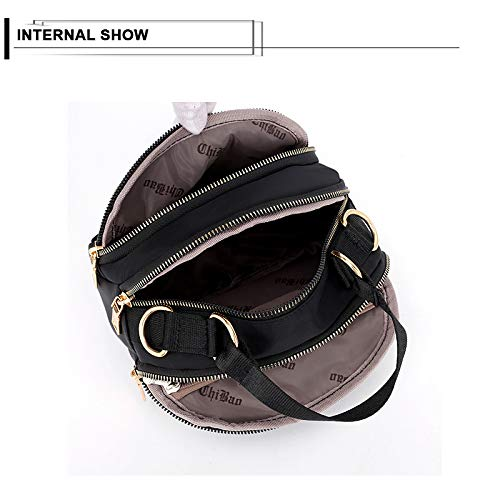 Shoulder d Tote Bags bag Water Crossbody Handbags Pocket Multicolor Badiya Women splash Anti Purse Multi Messenger 7Z7Iq4
