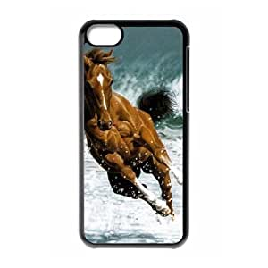 VNCASE Horse Phone Case For Iphone 5C [Pattern-1]