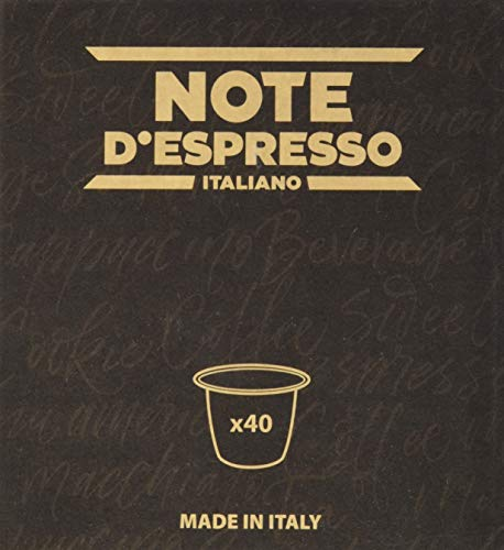 Note D Espresso - Capsulas de te verde exclusivamente compatibles con cafeteras Nespresso , 3g (caja de 40 unidades)