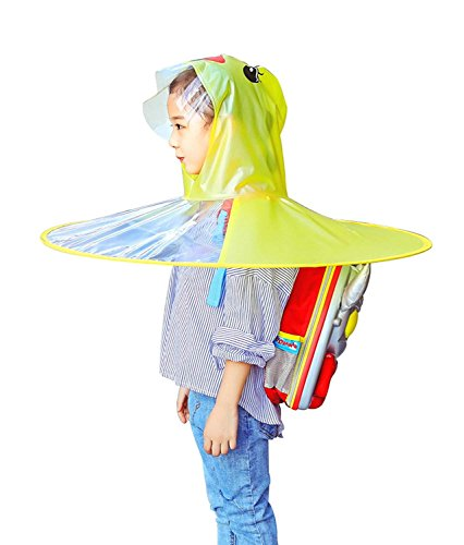 c1d6c3961 Amazon.com  Children s Duck Raincoat UFO Raincoat Children Umbrella ...