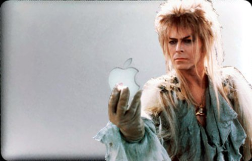 David Bowie in Labyrinth Decal for 11