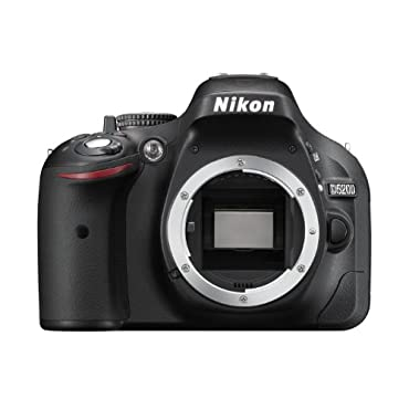 Nikon D5200 Digital SLR Camera Body Only Black (24.1MP) 3 inch LCD