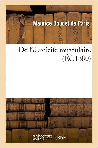 Ebooks pour iPhone De l'élasticité musculaire PDF iBook