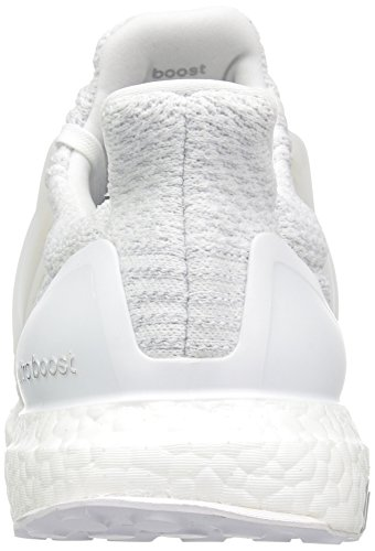 adidas Men's Ultraboost Running Shoe, White/White/Crystal White, 7 M US