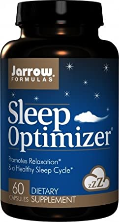 Jarrow Formulas Sleep Optimizer, Promotes Relaxation & a Healthy Sleep Cycle, 60 Caps: Amazon.es: Salud y cuidado personal