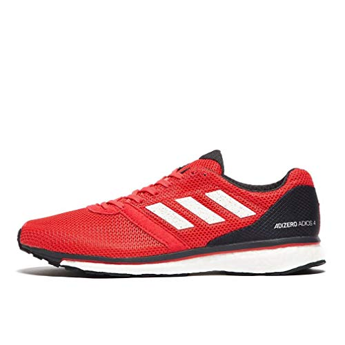 d0049150c adidas Adizero Adios 4 Boost Mens Running Shoes - Red-9