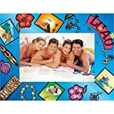Luau Paper Picture Frame - Case of 50