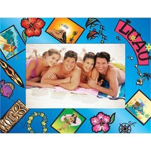 Luau Paper Picture Frame - Case of 50 by Neil Enterprises
