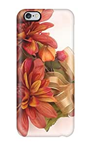 Excellent Design Fall Flowers Case Cover For Iphone 6 Plus