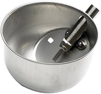 1 Stk Wassertrinker Schweine Wasserschale Selbsttränke aus Edelstahl