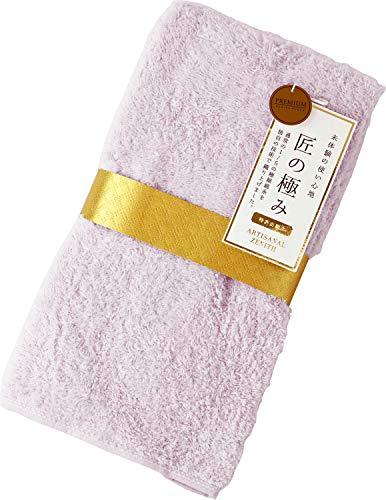 우치노(UCHINO) 스몰 바스 타올 핑크 약50×100cm 장인의 극치 8845B784 P