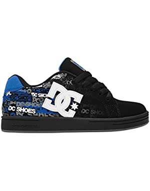 Shoes Boys Dc Shoes Character Kids Shoe - Low Top Skate Shoes - Kids - 25 - Black Black/Royal/Print 25