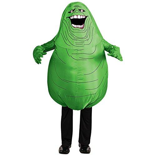 [Inflatable Slimer Adult Costume - Standard] (Inflatable Slimer Adult Costumes)