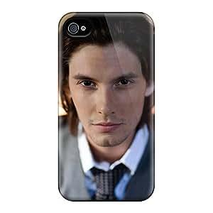 OrangeColor Scratch-free Phone Case For Iphone 4/4s- Retail Packaging - Ben Barnes